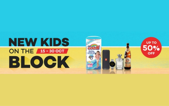 Lazada Shop for New Kids On The Block Discount Up To 50% OFF