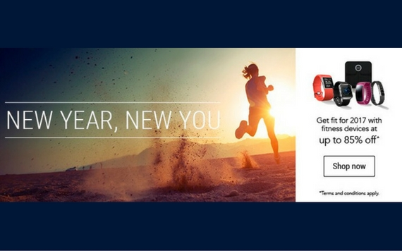 Courts New Year, New You Promo. Get Fit 2017 With Fitness Devices~