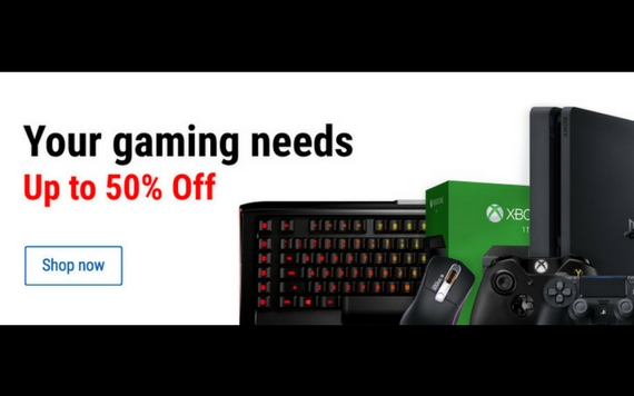 Courts Your Gaming Needs Up To 50% OFF