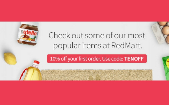 Redmart Get 10% OFF Your First Order , Check It Out Now..