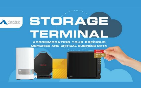 Challenger Storage Terminal Accomodating Your Precious Memories