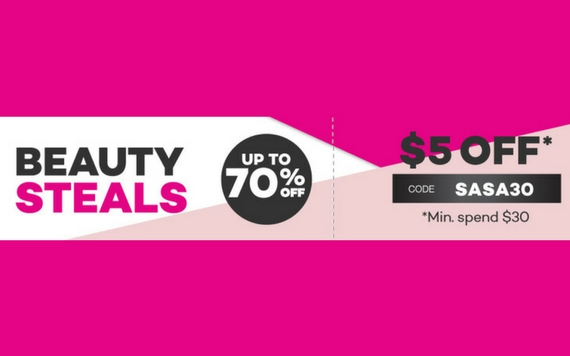 Lazada Sasa Beauty Steals Up To 70% OFF...