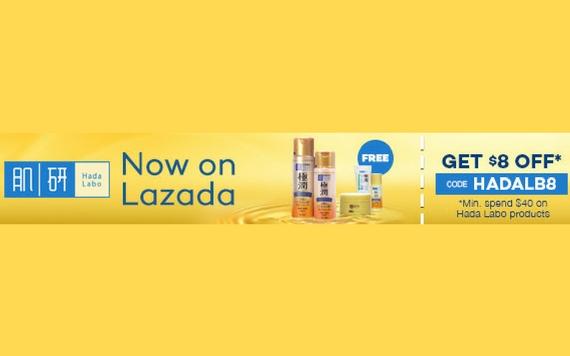Lazada Hada Labo Now On Lazada! Get $8 OFF...
