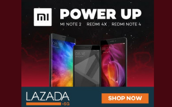 Lazada Get your latest Xiaomi Phones on Lazada NOW!