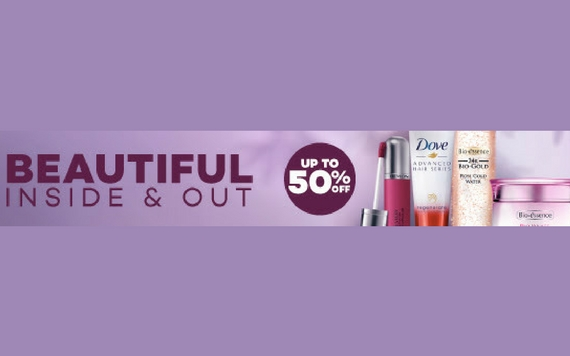 Lazada Beautiful Inside & Out, Get Up To 50% OFF