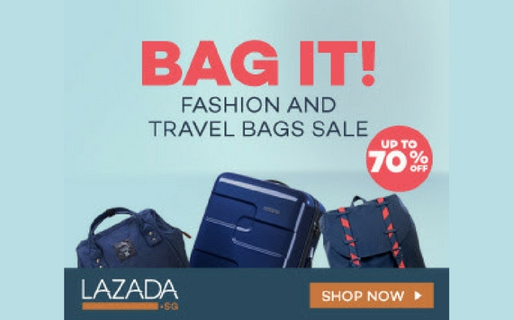 Lazada BAG IT, Fashion & Travel Bags Sale Up To 70% OFF