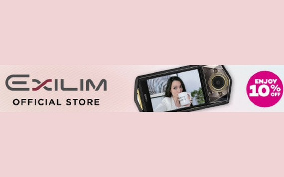 Lazada Exilim Official Store, Enjoy 15% OFF...