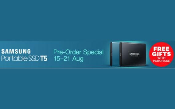 Lazada Samsung Portable SSD T5 , Special Pre-Order...