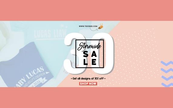 Teezbee Storewide Sale Up To 30% OFF ...