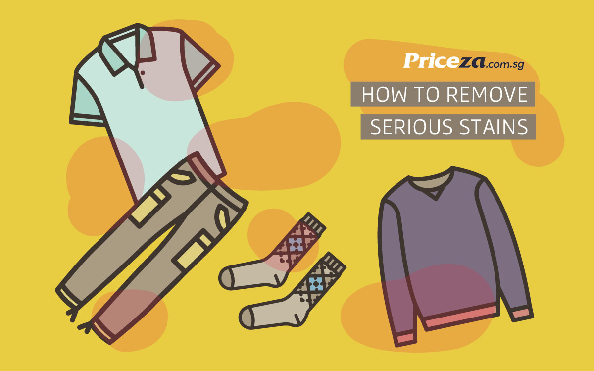 How to Remove Serious Stains Properly