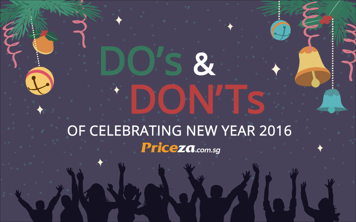 Do's and Don'ts of Celebrating New Year 2016