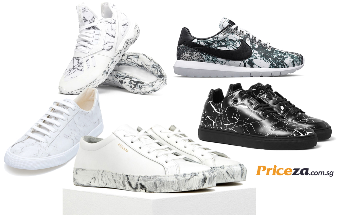 Most Wanted Marble-Print Sneakers - Hottest Sneakers Trend of 2016
