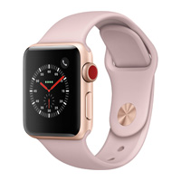 Price Apple Watch Series 3 (GPS) Silver Aluminium Case with Fog Sport Band 38mm