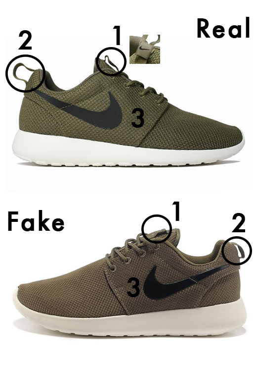 Nike Free Run Original Vs Faux Samsung