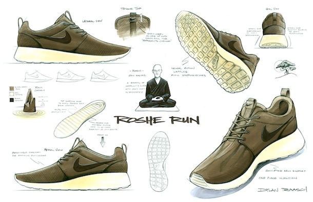 "The person behind Nike Roshe Run is Dylan Raash. The name ""Roshe"" is  actually from a Zen master, Roshi. He wanted the design of Roshe shoes to  be in the ... b982a5d296"
